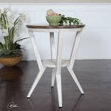 diy round end table