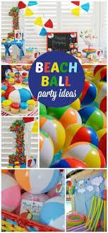 Beach Ball Decoration Ideas Beach ball Birthday Beach ball first birthday Beach ball 11