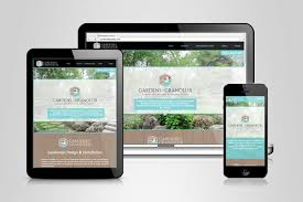 garden of grandeur. gardens of grandeur website design by active reason design, a cambridge, kitchener waterloo graphic garden