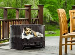 20 cool outdoor dog beds that are also comfortable rh freshpatio com outdoor lounge bed outdoor canopy bed