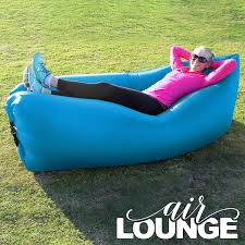 inflatable lounge furniture. New Lightweight, Portable AirLounge \u2013 Convenient Outdoor Inflatable Lounger Chair Sofa With Carry Bag. Lounge Furniture