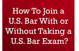 Which U S Bars Admit Non U S Trained Lawyers With Or