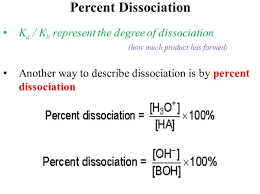 acids and bases dissociation constants ppt