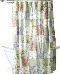 terry cloth shower curtain extra long white grey
