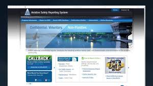 Video Tip Aviation Safety Reporting System The Nasa Form The Faa