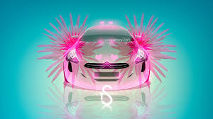 citroen gq fantasy flowers
