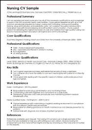 Rn Consultant Sample Resume Interesting Nursing CV Sample MyperfectCV