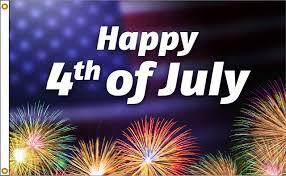 4th Of July Fireworks 3x5 Nylon Flag