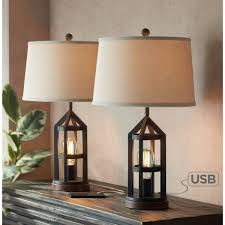 <b>USB Table Lamps</b> - Featuring Built-in <b>USB</b> Ports | Lamps Plus