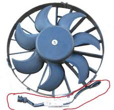 electric fan monty do i keep this piece including the little square box then connect it straight to spal fan what color is power and ground