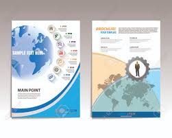 Flyer Template For Pages Vector Brochure Flyer Design Layout Template Front And Back