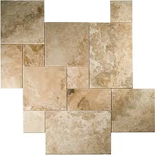 Versailles Tile Pattern Beauteous Travertine 48 Sz Versailles Pattern Set Honey Rustic BV Tile And Stone