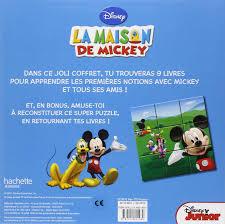 Amazon Fr 9782014636574la Maison De Mickey 1 Res Notions En