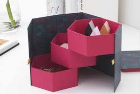 Decorative office supplies Office Organizer The Decorative Box Has Hidden Compartments For Small Things Ikea Stationary Wrapping Paper Gift Tags Paper Goods Ikea