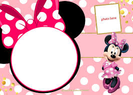 Minnie Mouse Invitation Design Free Printable Minnie Mouse Invitation Template Polka And