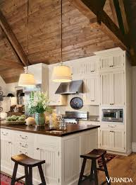 lighting ideas for vaulted ceilings. Kitchen Lighting Ideas Vaulted Ceiling Inspirational For 15 Rustic Cabinets Designs Ceilings