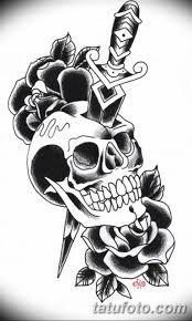 олд скул тату эскизы мужские 09032019 023 Tattoo Sketches