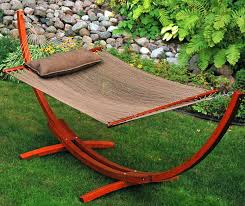 image backyard wooden hammock chair stand for diy instructions