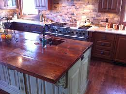 concrete countertops traditional kitchen new york