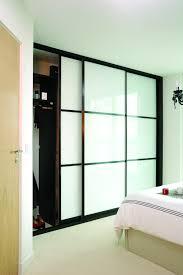 sliding closet doors for bedrooms. Bedroom Closet Doors. Kensington Range Sliding Wardrobe Door With Japanese Style Panels And White Glass From IDS. Doors For Bedrooms