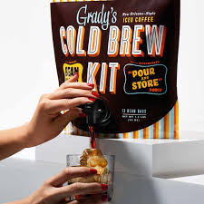 Cold extract coffee tends to offer a more rich, smooth coffee flavor, and since it's steeped at a much lower temperature, you don't extract as much of the oils and acids from the beans as when you hot steep. Bean Bag Cold Brew Kit Grady S Cold Brew Grady S Cold Brew