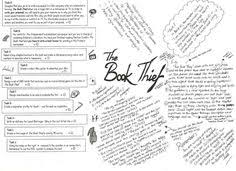 the book thief lesson plan book thief books  the book thief activities pdf