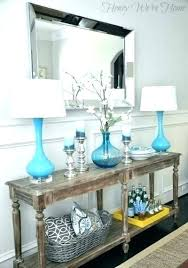 Console Table Decor Ways To Decorate A Console Table Console Table
