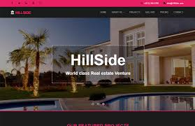 Real Estate Website Templates Adorable Realestate Bootstrap Responsive Web Template Fee Download