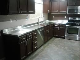 Cleaning Stainless Steel Countertops Remarkable Fab Wright Inc 7145545544 2560 X 1920 Kitchen