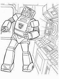 Kleurplaat Transformers Robots In Disguise Transformers Malvorlagen