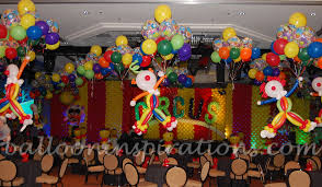 circus balloons ideas circus themed party