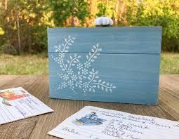 Decorative Recipe Box decorative painting Craft Critique 55