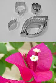 Paper Flower Cutter Cutter Set Paper Flower For Clay Flower Making
