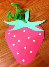 Strawberry Craft Crafts And Worksheets For Preschool