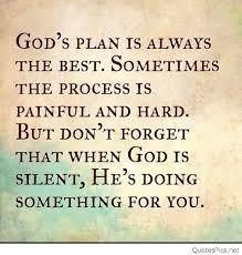 Gods Plan Quotes Classy God's Plan Quotes