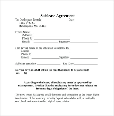 simple rental agreement florida residential sublease agreement template