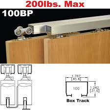 bypass door hardware. Picture Of 100BP Bypass Pocket Door Hardware