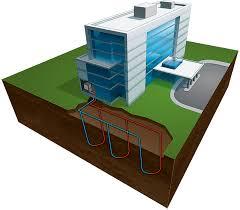 geothermal heat pump applications vertical loops