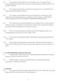 Convertible Note Agreement Template Classy Offer To Purchase And Contract Form 44 T Elegant Partnership