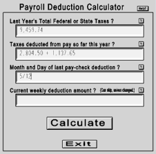 How Are Payroll Taxes Calculated Opentaxsolver Payroll Deduction Calculator