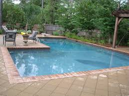 gunite pool cost. Geometric Gunite Pool With Pergola Cost L
