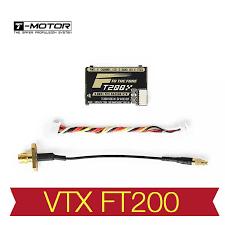 Futaba Receiver Chart T Motor Ft200 5 8g 25 50 200 500mw Switchable Fpv Racing Vtx