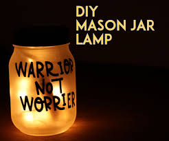 Diy Mason Jar Lamp 8 Steps With Pictures