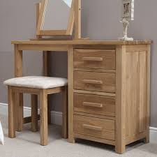 Solid Wood Contemporary Bedroom Furniture Eton Solid Oak Contemporary Bedroom Furniture Dressing Table With