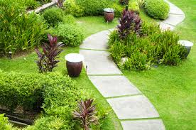images of landscaped gardens