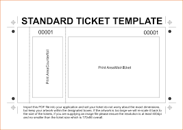 Microsoft Office Templates Tickets Microsoft Office Raffle Ticket Template Free Sample Lease Agreement 6