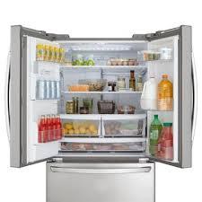 lg refrigerators lowes. lg appliances lfx28968st 27.6-cu ft french door refrigerator single ice maker (stainless steel) energy   lowe\u0027s canada lg refrigerators lowes