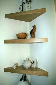 Dark Wood Corner Shelves Stunning Rustic Floating Corner Shelves Rustic Corner Bookshelf Dark Wood