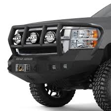 Road Armor® - Chevy Silverado 2016 Stealth Series Full Width Front ...
