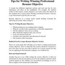 Good Resume Objectives New Whats A Good Resume Objective 100 Example 100 Statement Sample 34